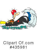 Royalty-Free (RF) Rafting Clipart Illustration #435981
