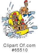 Rafting Clipart #65510