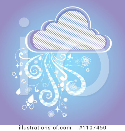 Cloud Clipart #1107450 by Amanda Kate