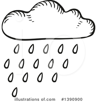 Cloud Clipart #1390900 by Vector Tradition SM