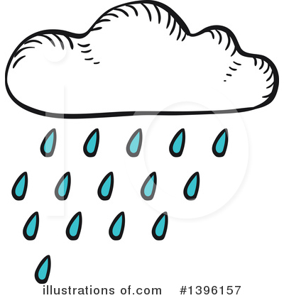 Cloud Clipart #1396157 by Vector Tradition SM