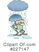 Royalty-Free (RF) Rain Clipart Illustration #227147