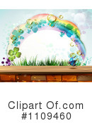 Royalty-Free (RF) Rainbow Clipart Illustration #1109460