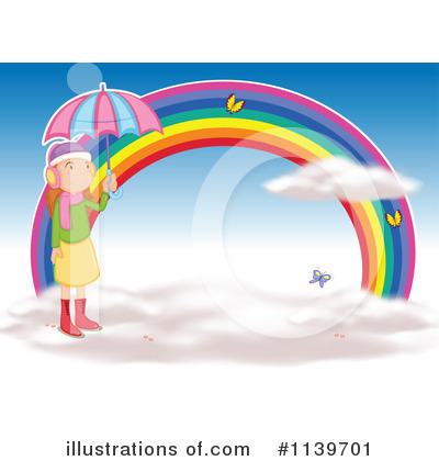Rainbow Clipart #1139701 by Graphics RF