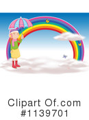 Royalty-Free (RF) Rainbow Clipart Illustration #1139701