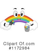 Royalty-Free (RF) Rainbow Clipart Illustration #1172984