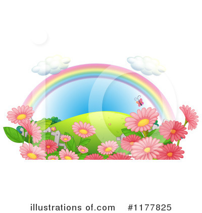 Rainbow Clipart #1177825 by Graphics RF