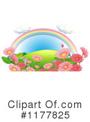 Royalty-Free (RF) Rainbow Clipart Illustration #1177825