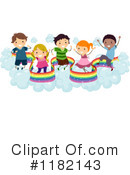 Rainbow Clipart #1182143 by BNP Design Studio