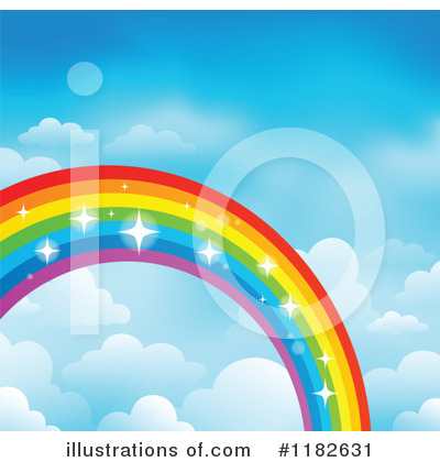 Rainbow Clipart #1182631 by visekart