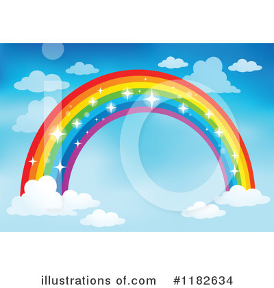 Rainbow Clipart #1182634 by visekart