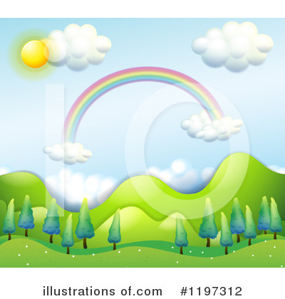 Rainbow Clipart #1197312 by Graphics RF