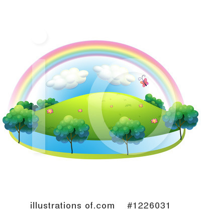 Rainbow Clipart #1226031 by Graphics RF