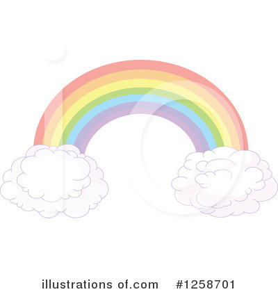 Rainbow Clipart #1258701 by Pushkin