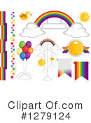 Rainbow Clipart #1279124 by BNP Design Studio