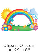 Royalty-Free (RF) Rainbow Clipart Illustration #1291186