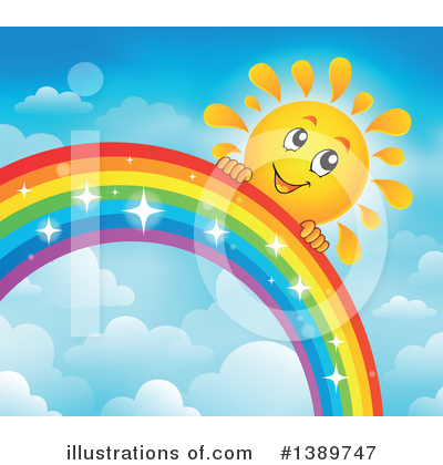 Rainbow Clipart #1389747 by visekart