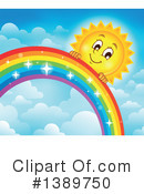 Rainbow Clipart #1389750 by visekart