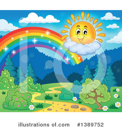 Sun Clipart #1389752 by visekart