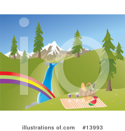 Royalty-Free (RF) Rainbow Clipart Illustration by Rasmussen Images - Stock Sample #13993