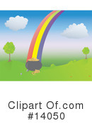 Royalty-Free (RF) Rainbow Clipart Illustration #14050