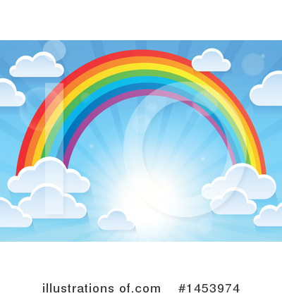 Rainbow Clipart #1453974 by visekart