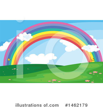 Rainbow Clipart #1462179 by Graphics RF
