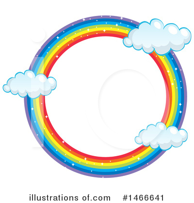 Royalty-Free (RF) Rainbow Clipart Illustration by Graphics RF - Stock Sample #1466641