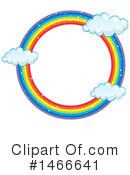 Rainbow Clipart #1466641 by Graphics RF