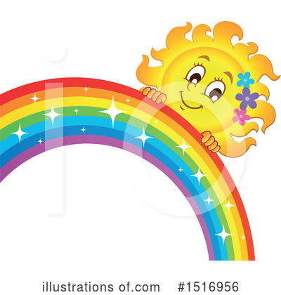 Royalty-Free (RF) Rainbow Clipart Illustration by visekart - Stock Sample #1516956