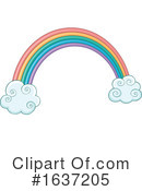 Rainbow Clipart #1637205 by visekart