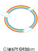 Rainbow Clipart #1716486 by Graphics RF