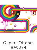 Royalty-Free (RF) rainbow Clipart Illustration #46374