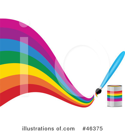 Rainbow Clipart #46375 by elaineitalia