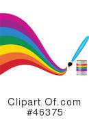 Royalty-Free (RF) Rainbow Clipart Illustration #46375