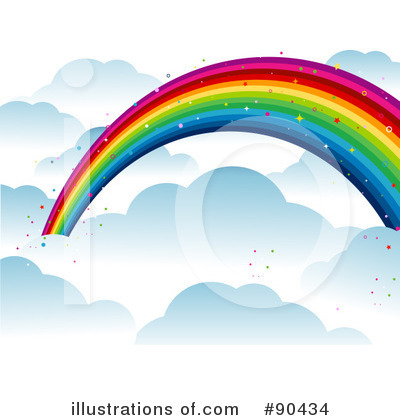 Rainbow Clipart #90434 by BNP Design Studio