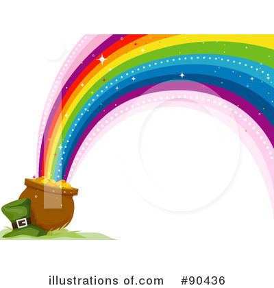 Rainbow Clipart #90436 by BNP Design Studio