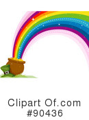 Royalty-Free (RF) Rainbow Clipart Illustration #90436