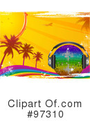 Royalty-Free (RF) Rainbow Clipart Illustration #97310