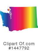 Rainbow State Clipart #1447792 by Jamers