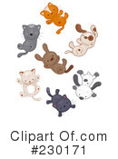 Raining Cats And Dogs Clipart #230171