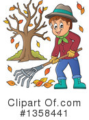 Raking Clipart #1358441 by visekart