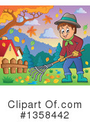 Raking Clipart #1358442 by visekart