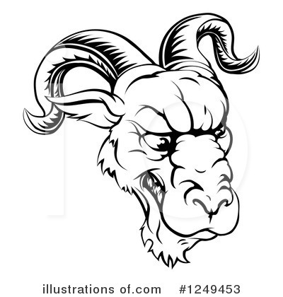 Ram Clipart #1249453 by AtStockIllustration