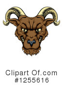 Royalty-Free (RF) Ram Clipart Illustration #1255616