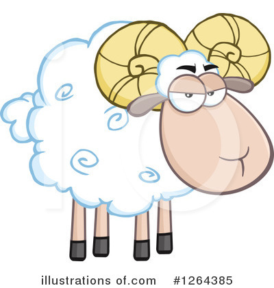 Ram Clipart #1264385 by Hit Toon
