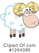 Royalty-Free (RF) Ram Clipart Illustration #1264385
