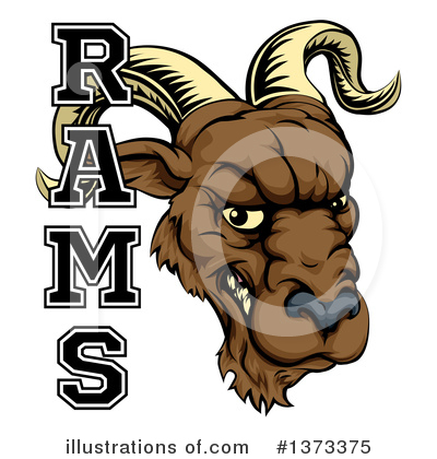 Ram Clipart #1373375 by AtStockIllustration