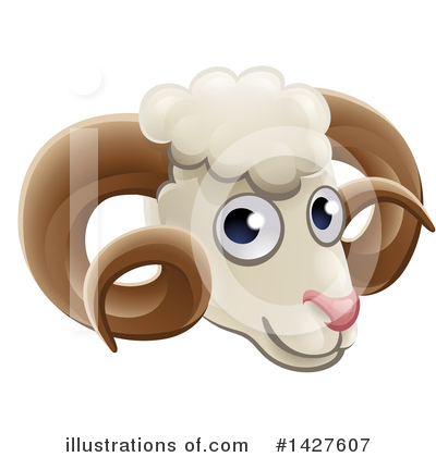 Ram Clipart #1427607 by AtStockIllustration