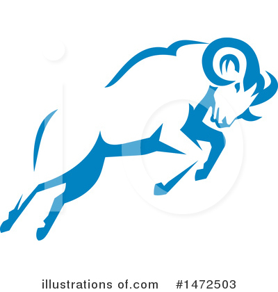 Royalty-Free (RF) Ram Clipart Illustration by patrimonio - Stock Sample #1472503